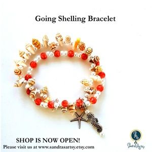 Jewelry - Going Shelling Stretch Bracelets